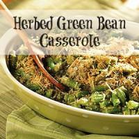Herbed Green Bean Casserole