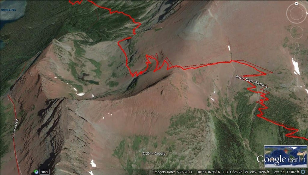 Red Gap Pass_Google Earth