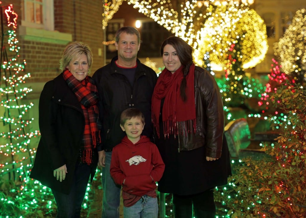Lights of the Ozarks   Fayetteville Square