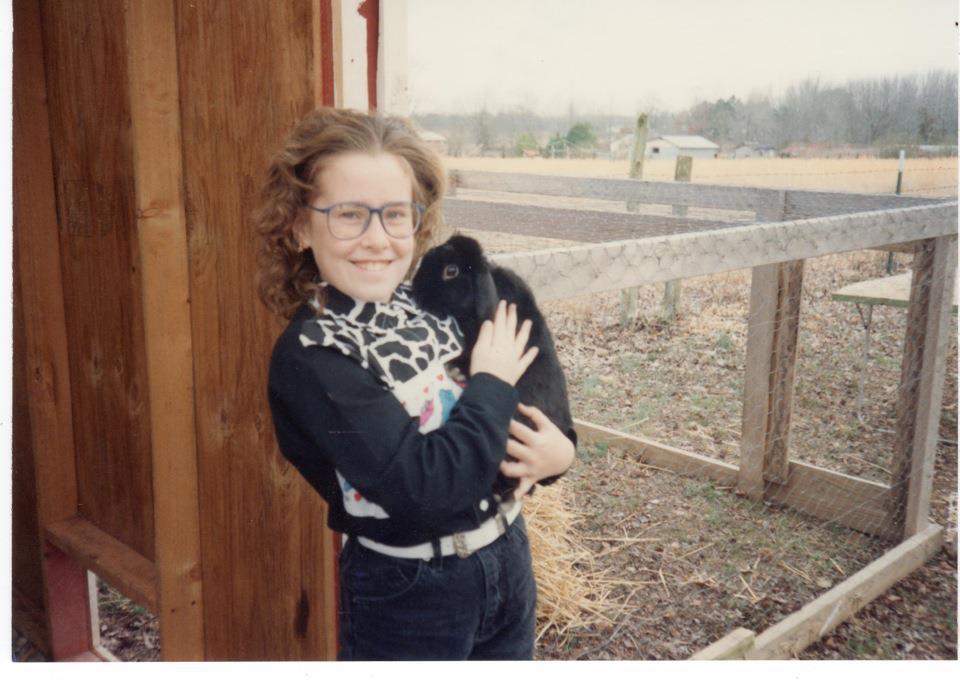 Sarah and Corky - circa 1993