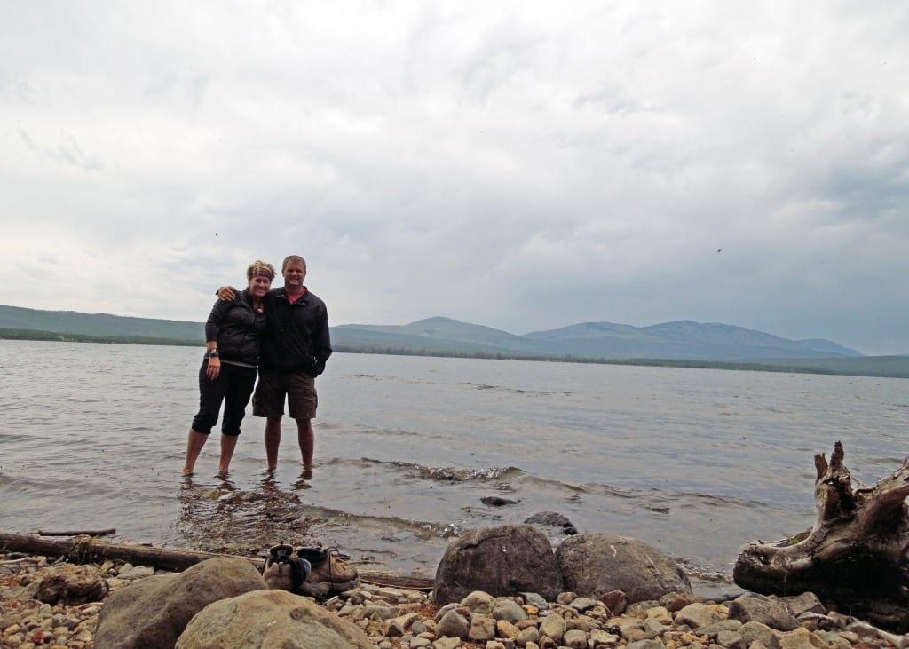 Heart Lake ice bath