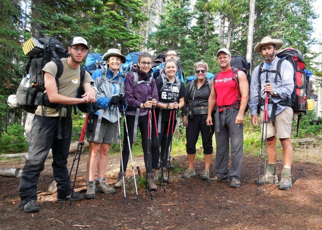 Group photo at camp Day 3