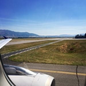 Landing in Montana