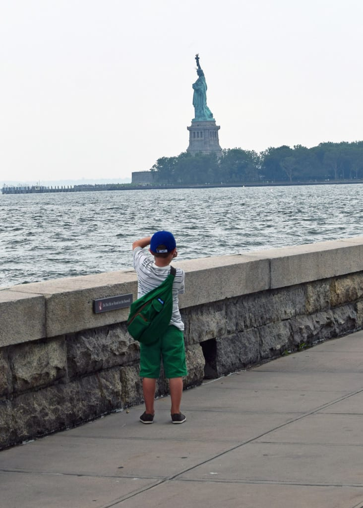 One of my favorite shots all week. Gazing on Liberty from Ellis Island.