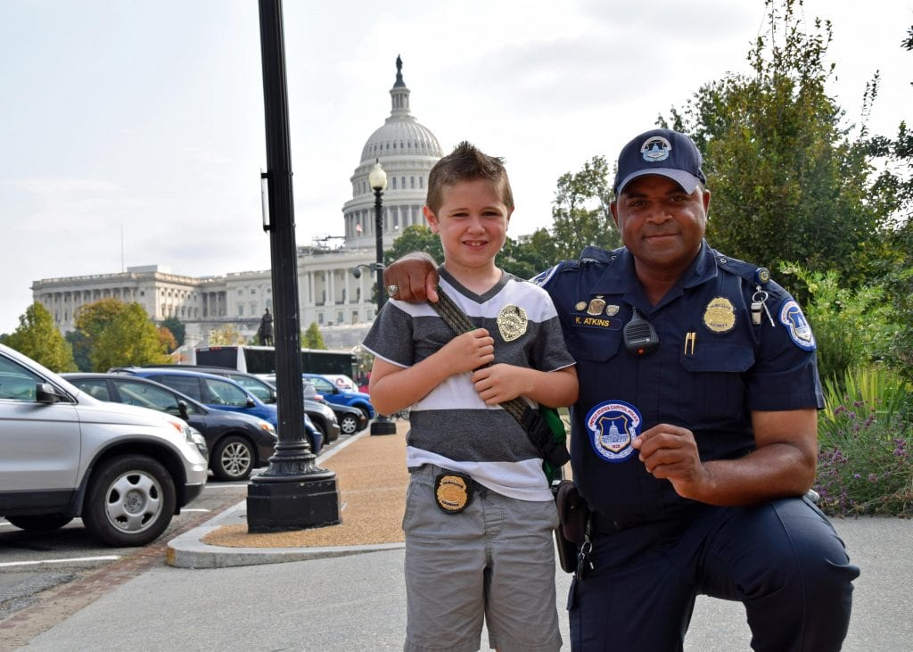 The Capitol Police's newest deputy