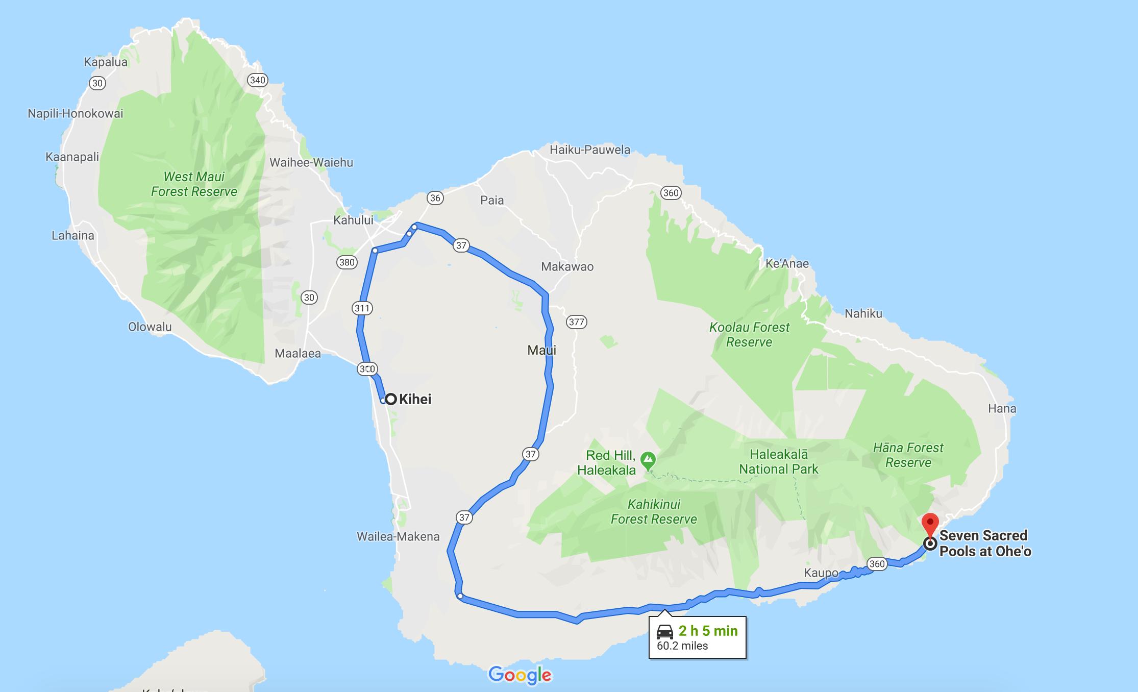 The Road to Hana: The Road Less Traveled   sarahmartinhood.com